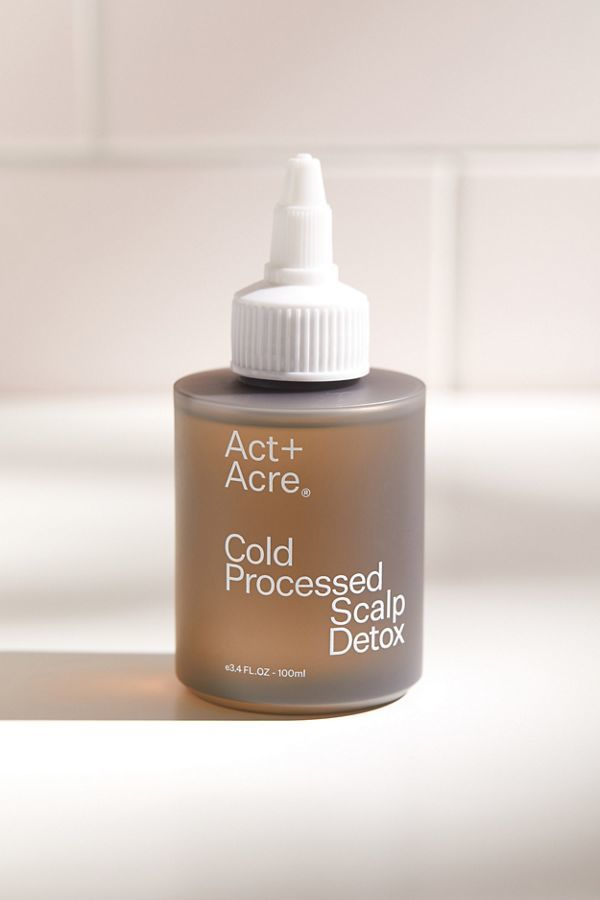 Detoxifying Scalp Treatments - Act+Acre's Cold Pressed Scalp Detox Promotes Hair Growth (TrendHunter.com)