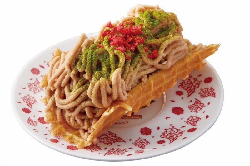 Noodle-Inspired Frozen Desserts
