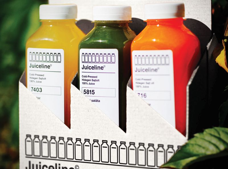 Monochrome Cold-Pressed Juices