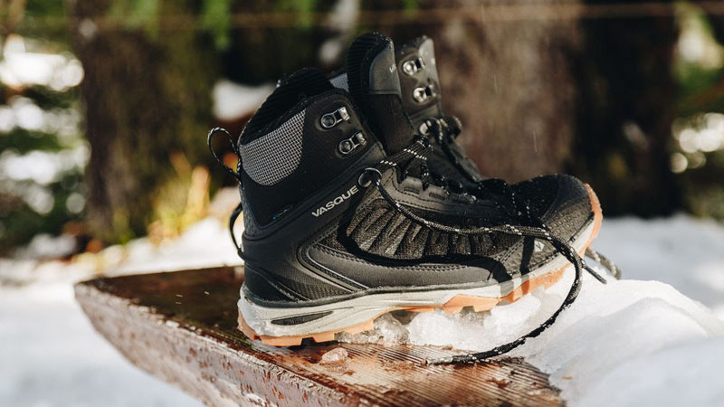 Utilitarian Insulated Hiking Boots