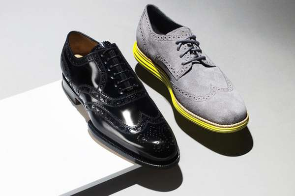 Sneaker-Soled Oxfords