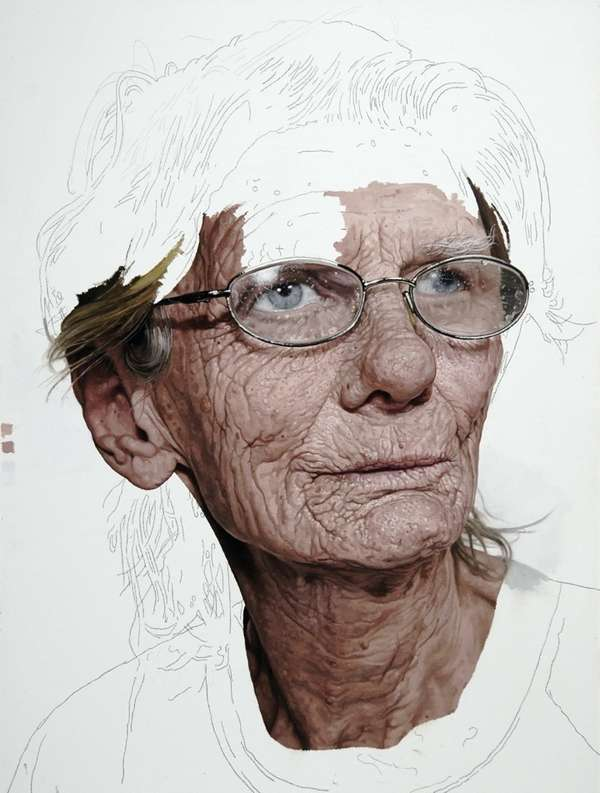 Elderly Unfinished Art