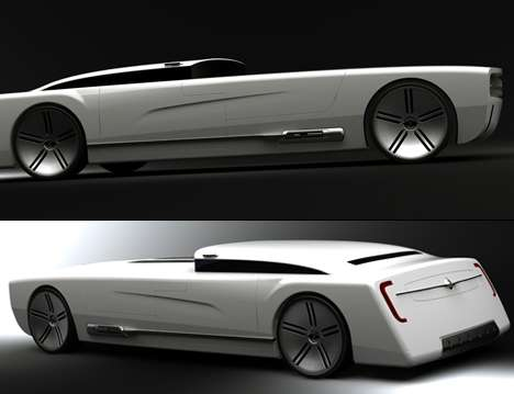 coffin like cars colin pan designs a high tech automobile that is to die for. Black Bedroom Furniture Sets. Home Design Ideas