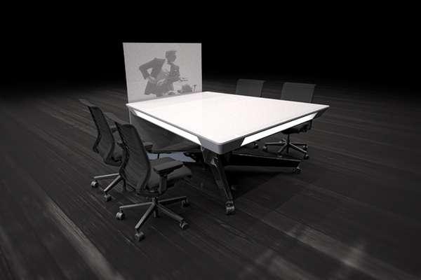 Adaptable Teamwork Tables