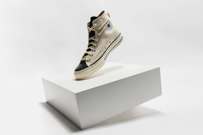 Luxuriously Upgraded Classic High-Tops