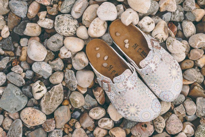 Heavily Patterned Sandal Designs