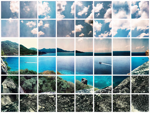 Fragmented Landscape Photography