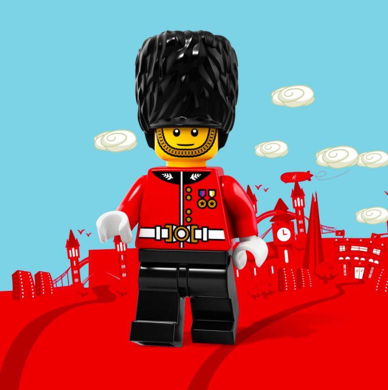 Royal Guard LEGOs