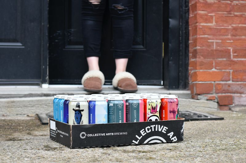Ontario-Wide Craft Beer Deliveries