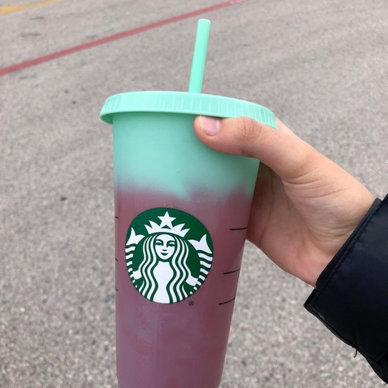 Reusable Color-Changing Cups