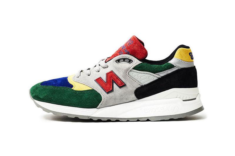 Shock-Absorbing Suede Sneakers