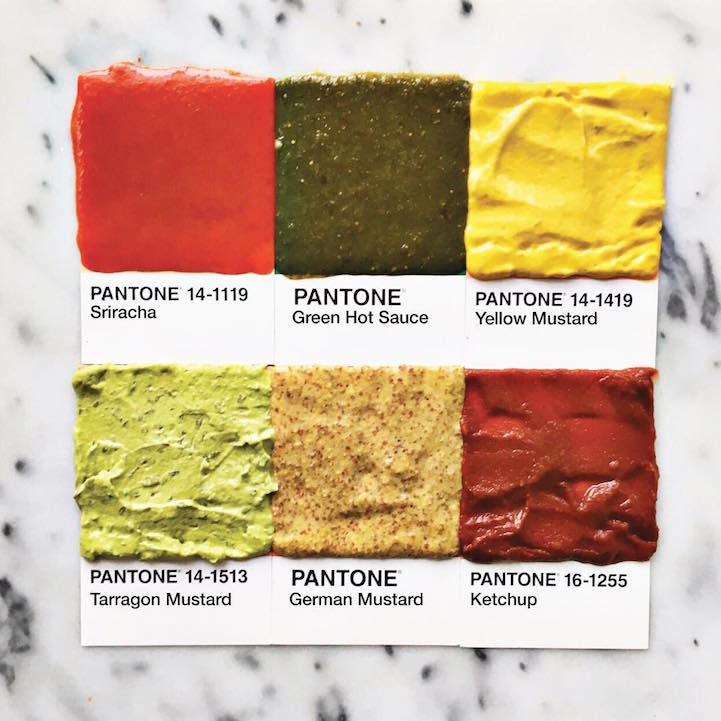Edible Color Swatches