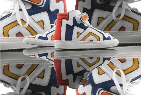 Trippy Graffiti Footwear