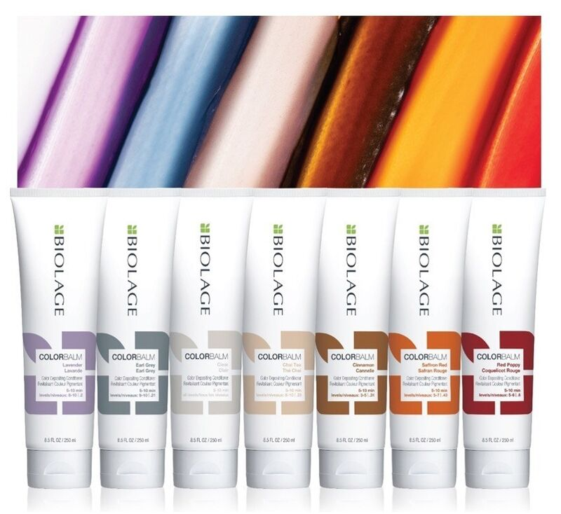 Color-Depositing Conditioning Balms