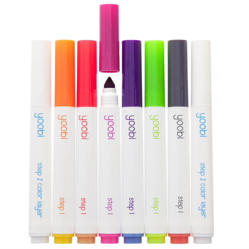 Color-Changing Markers