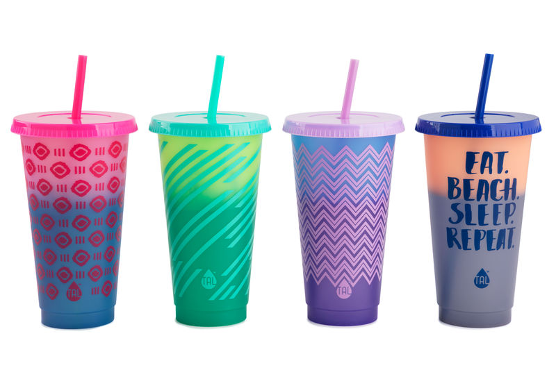 Patterned Color-Changing Tumblers