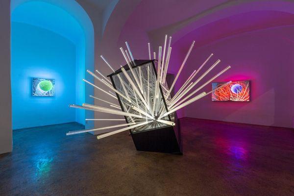 Luminescent Art Installations