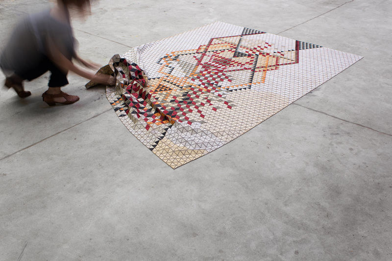 Sculptural Geometric Rugs