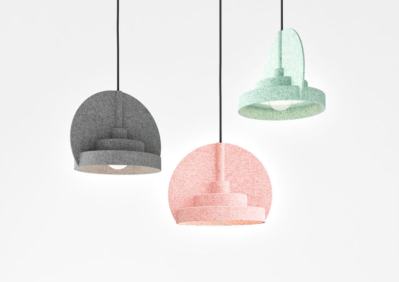 Colorful Concrete Lights