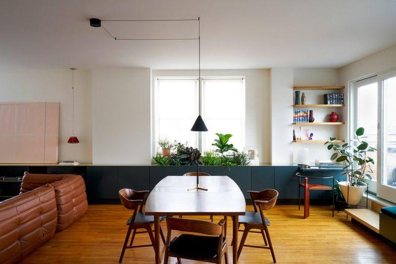 Colorful Contemporary Apartment Interiors