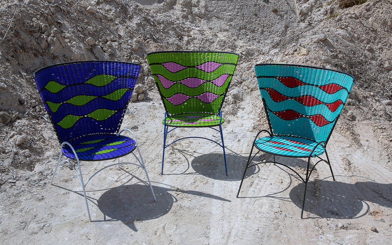 Moon-Inspired Colorful Furnishings