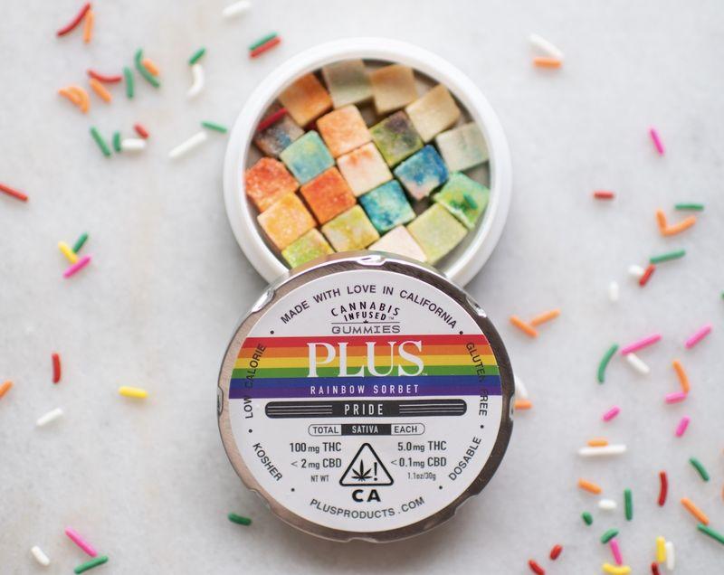 Cannabis-Infused Rainbow Gummies