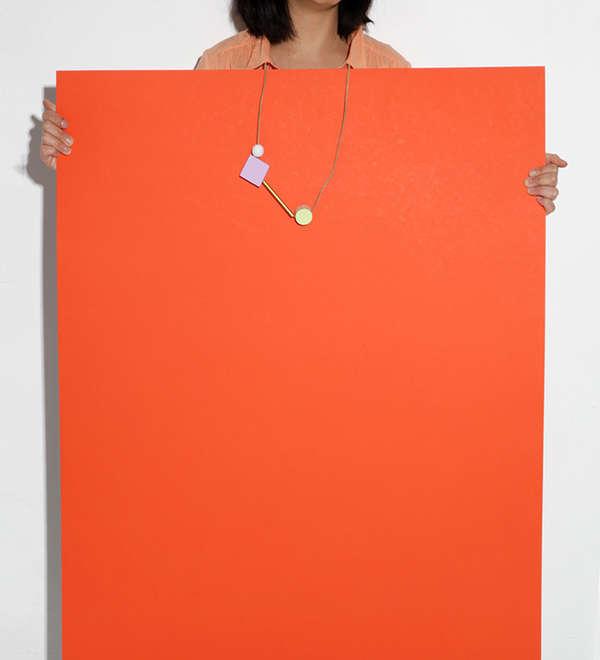 Colorblocked Jewlery Lookbooks