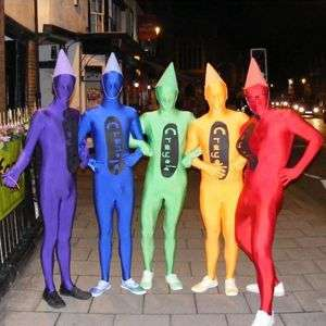 Colorful Morphsuits