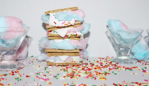 Candy Floss S'mores