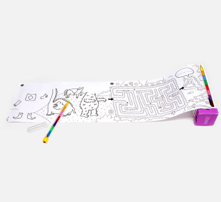 Portable Coloring Sets : coloring kit