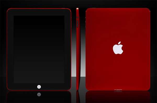 Cherry Red Apple iPads