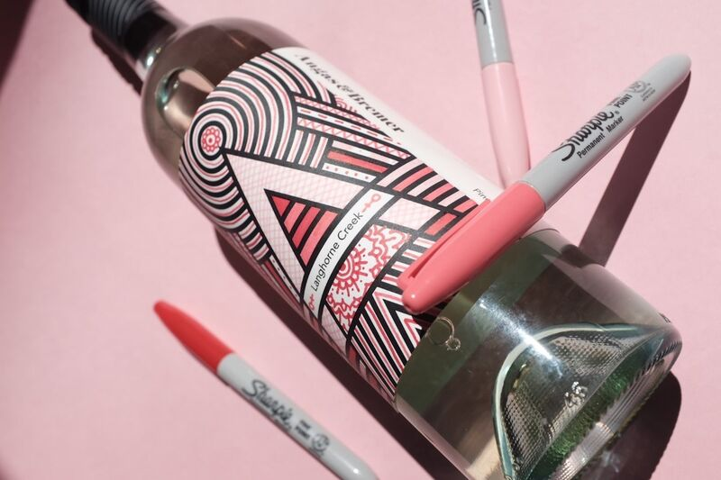 Color-In Wine Labels