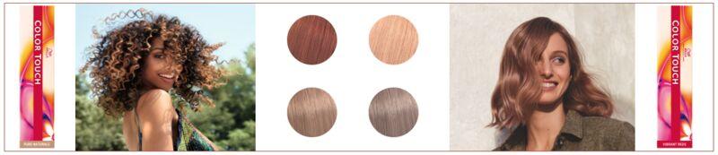 Multi-Dimensional Demi-Permanent Hair Colors