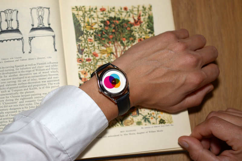 Colorful Hand-Free Watches