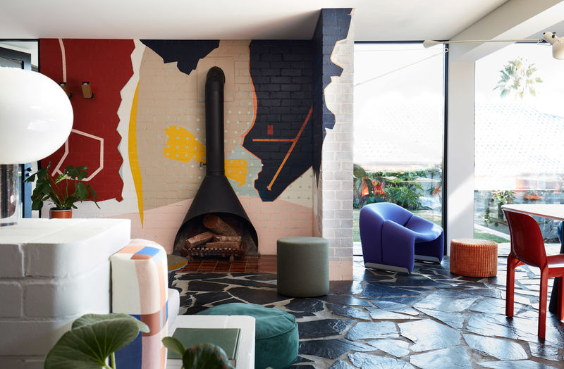 Colour-Pop Home Spaces