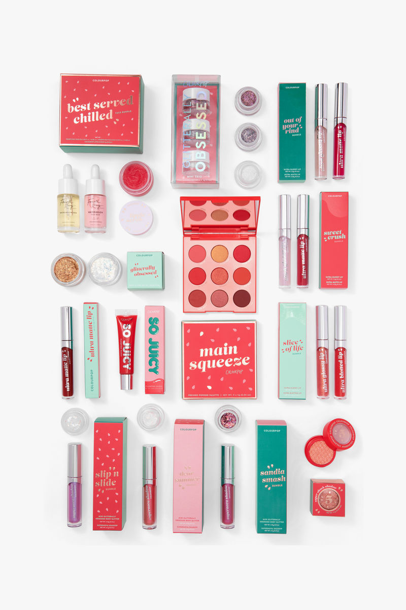 Watermelon-Inspired Makeup Lines