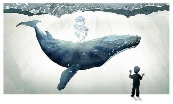 Imaginative Childhood Illustrations