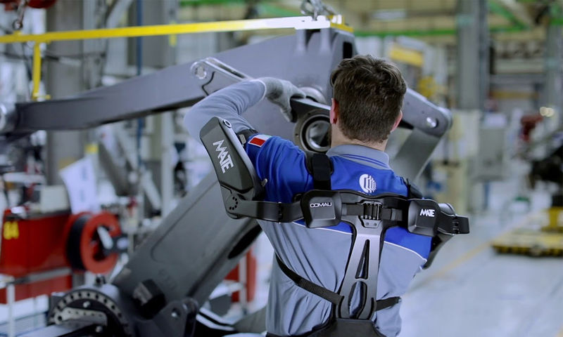 Factory Worker Support Wearables