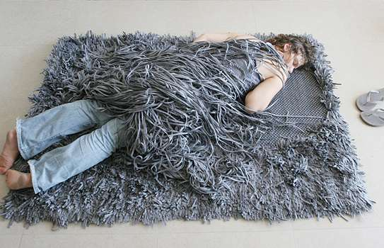 Hairstyle-Inspired Rugs