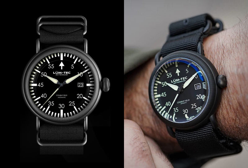 ref watches officier glycine combat
