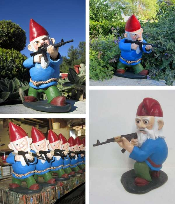 Rifle-Bearing Backyard Guardians