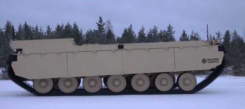 Autonomous Combat Vehicles