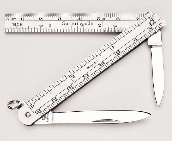 Dual Blade Measures