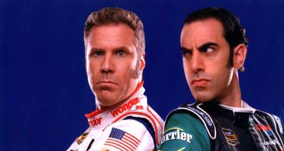 Comedy Kings Reunited: Will Ferrell And Sacha Baron Cohen