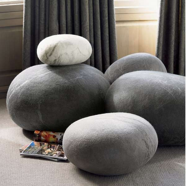 Rock-Resembling Furniture