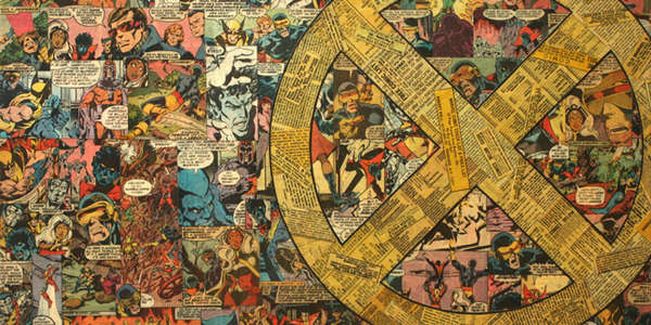 Vintage Comic Collages