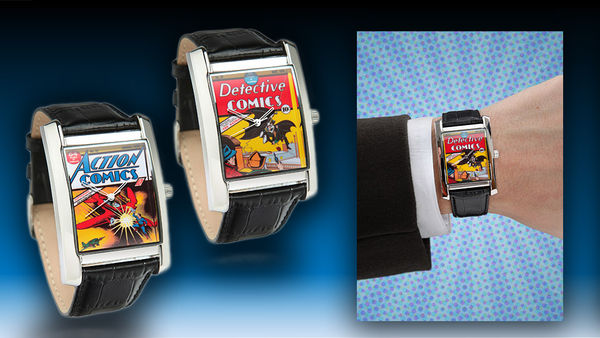 Retro Superhero Timepieces