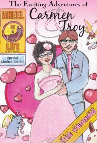 Comic Book Wedding Invites