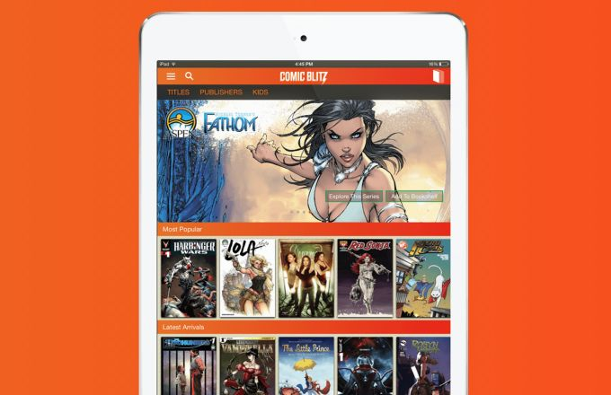 Subscription-Based Comic Book Sites