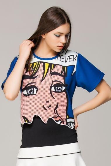 Pop-Art Inspired Statement Tees